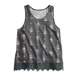 56b59b7f6 Girls 7-16 & Plus Size SO® Flag Graphic Tank. Sale
