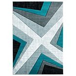 United Weavers Bristol Collection Zine Geometric Rug