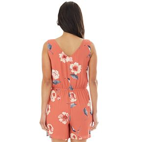 Women's Apt. 9® Tank Romper with Button Front