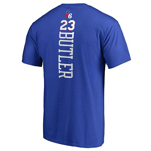 Men's Philadelphia 76ers Jimmy Butler Name & Number Tee
