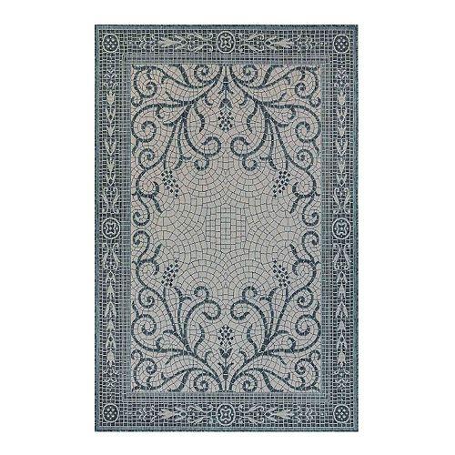 Liora Manne Carmel Mosaic Indoor Outdoor Rug