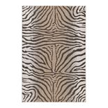 Liora Manne Carmel Zebra Pattern Indoor Outdoor Rug