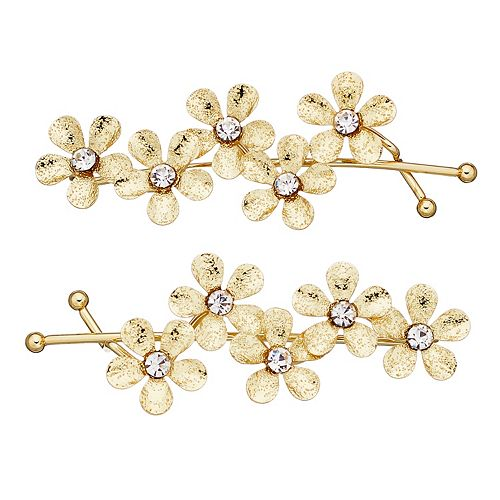 LC Lauren Conrad Diamond Dust Flower Clip