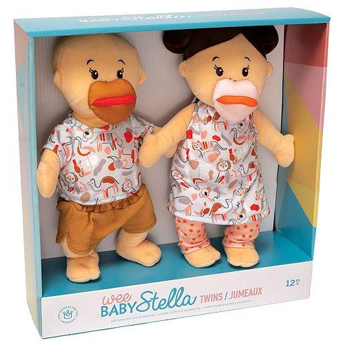 Manhattan Toy Wee Baby Stella Twins