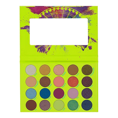 BH Cosmetics Colour Festival - 20 Color Shadow Palette