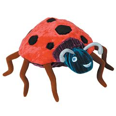 Kids Preferred™ 'The Grouchy Ladybug' Beanbag Toy