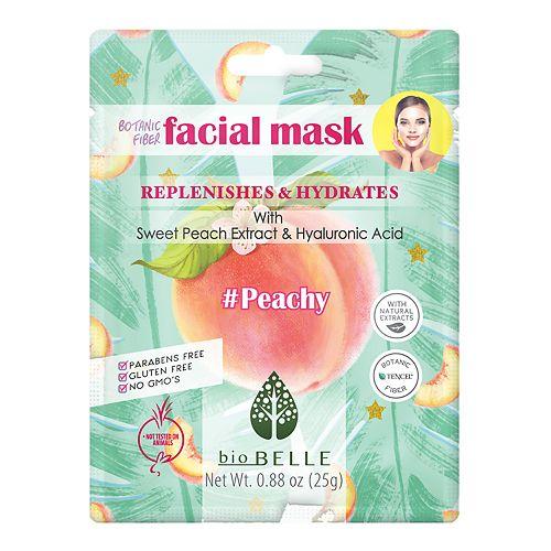 bioBELLE Peachy Facial Sheet Mask