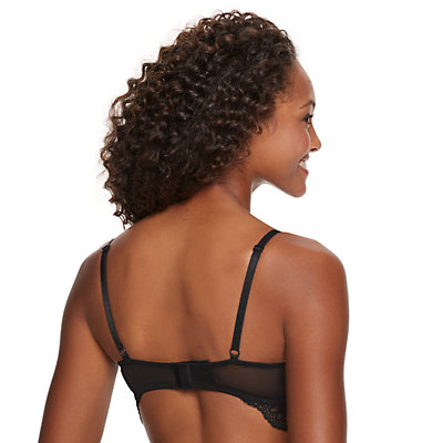 Juniors' SO® Longline T-shirt Bra with Lace