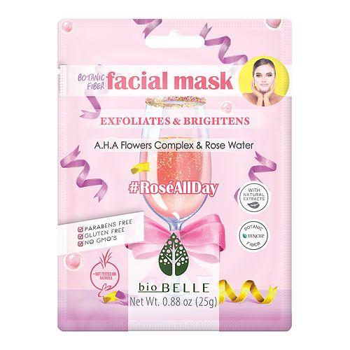 bioBELLE Rosé All Day Facial Sheet Mask