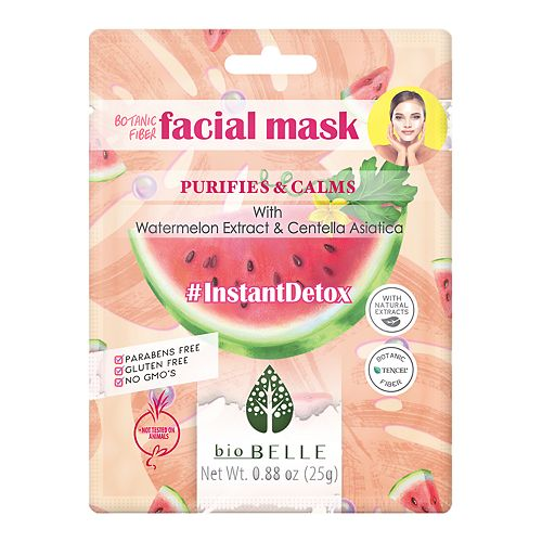 bioBELLE Instant Detox Facial Sheet Mask