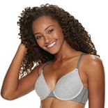SO® Cotton Blend Ribbed T-Shirt Bra