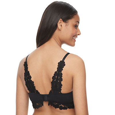 SO® Wire Free Lace Bra SO10354