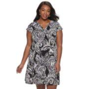 Women's Dana Buchman Placket A-Line Dress