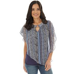 0c6f001f8141 Women's Apt. 9® Popover Ruched Side Tank. Paisley Cheetah ...