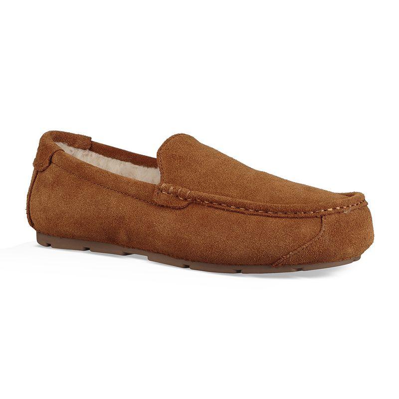 Koolaburra by UGG Tipton Men's Slippers. Size: Medium (7). Med Brown