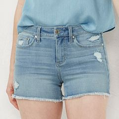 Women's LC Lauren Conrad High Rise Cut Off Shorts