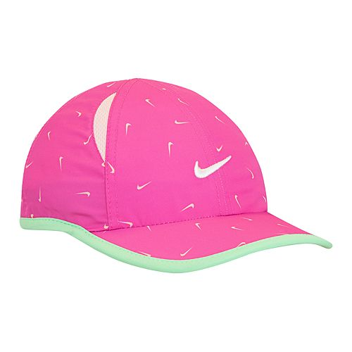 9cda4a65 Baby Girl Nike Featherlight Dri-Fit Pink Baseball Cap