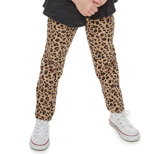 Girls 4-12 SONOMA Goods for Life™ Cheetah Pants