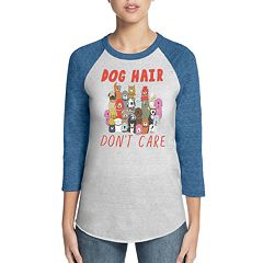 Women's Skechers Bobs for Dogs 'Dog Hair Don't Care' Baseball Graphic Tee