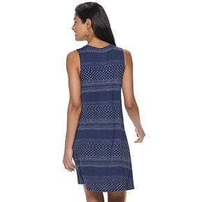 Women's SONOMA Goods for Life? High-Neck Swing Dress