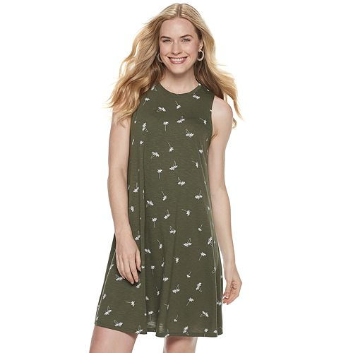 Women's SONOMA Goods for Life™ High-Neck Swing Dress