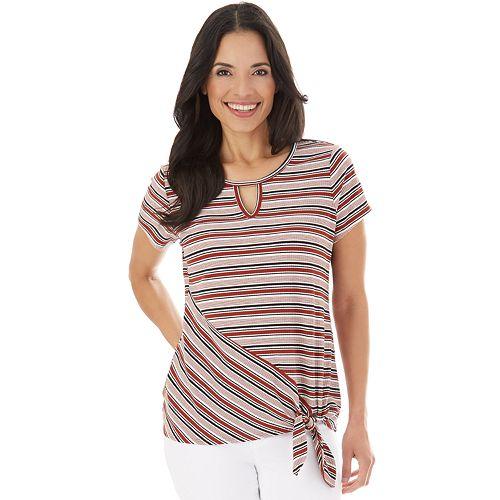 Women's Apt. 9® Knit Side Tie Top