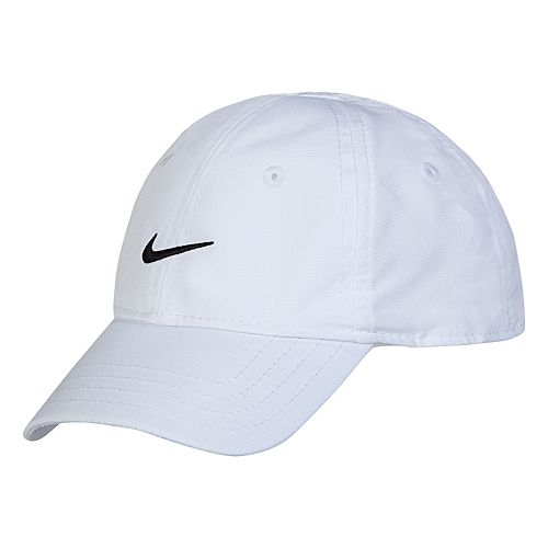 Baby Boy Nike Essential Dri-FIT White Baseball Cap