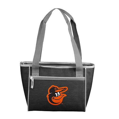 Logo Brand Baltimore Orioles Crosshatch 16-Can Cooler Tote