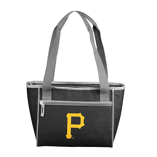 Logo Brand Pittsburgh Pirates Crosshatch 16-Can Cooler Tote