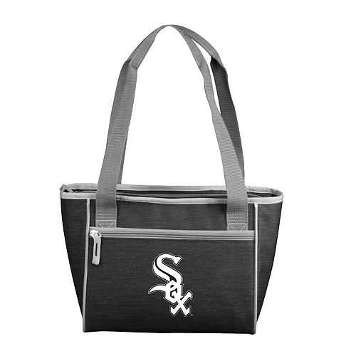 Logo Brand Chicago White Sox Crosshatch 16-Can Cooler Tote