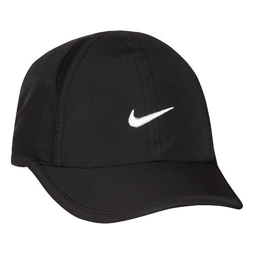 ead0fd10 Baby Boy Nike Featherlight Dri-Fit Black Baseball Cap