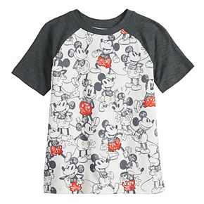 Disney's Mickey Mouse Boys 4-12 Raglan Graphic Tee by Jumping Beans®