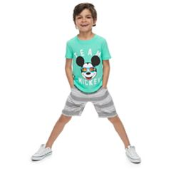 Disney's Mickey Mouse Boys 4-7 'Team Mickey' Graphic Tee by Family Fun