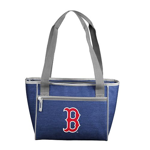Logo Brand Boston Red Sox Crosshatch 16-Can Cooler Tote