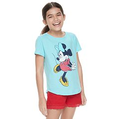 Disney's Minnie Mouse Girls 7-16 Classic Graphic Tee by Family Fun