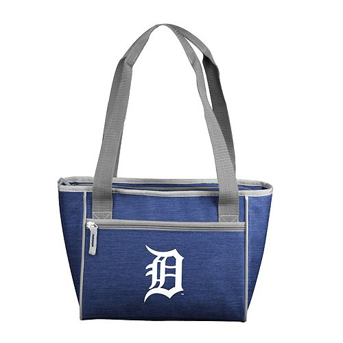 Logo Brand Detroit Tigers Crosshatch 16-Can Cooler Tote