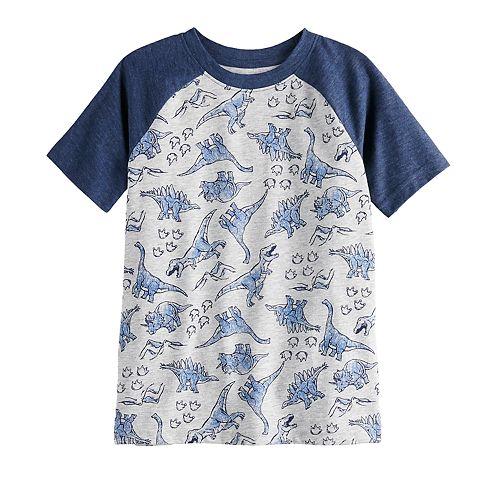 Boys 4-12 Jumping Beans® Dinosaurs Raglan Tee
