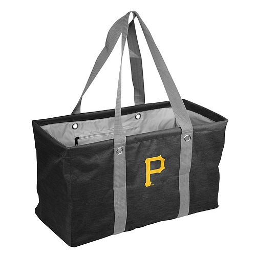 Logo Brand Pittsburgh Pirates Crosshatch Picnic Caddy