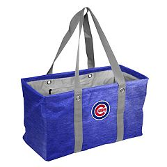 Logo Brand Chicago Cubs Crosshatch Picnic Caddy