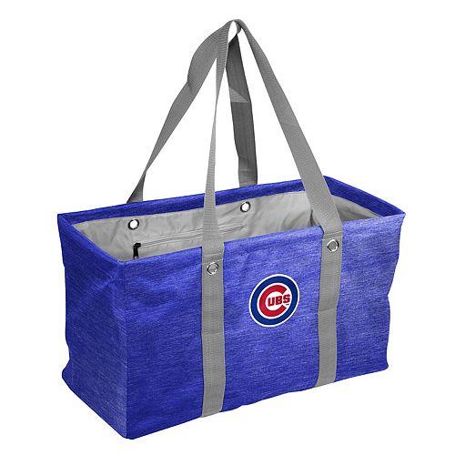 Logo Brand Chicago Cubs Crosshatch Picnic Caddy