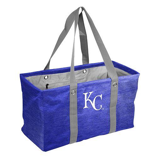 Logo Brand Kansas City Royals Crosshatch Picnic Caddy