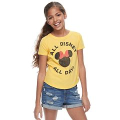 Disney's Minnie Mouse Girls 7-16 'All Disney All Day' Graphic Tee by Family Fun
