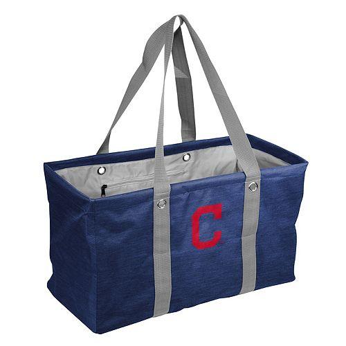 Logo Brand Cleveland Indians Crosshatch Picnic Caddy