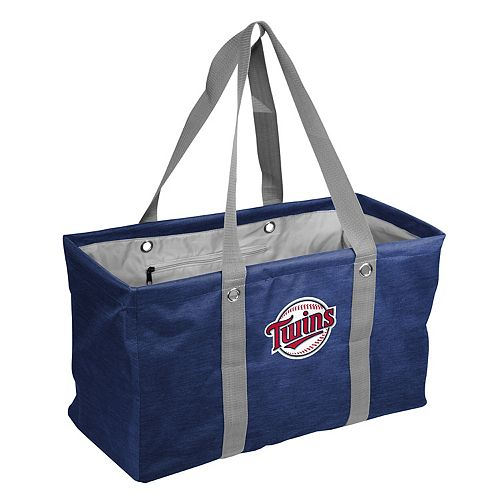 Logo Brand Minnesota Twins Crosshatch Picnic Caddy
