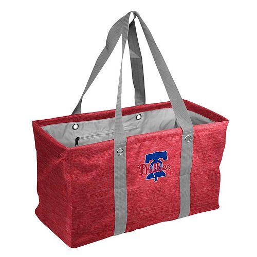 Logo Brand Philadelphia Phillies Crosshatch Picnic Caddy