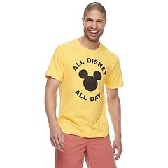 Disney's Mickey Mouse Men's 'All Disney All Day' Graphic Tee by Family Fun