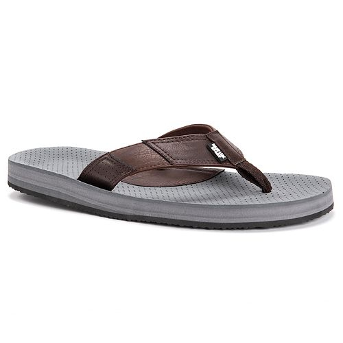 MUK LUKS Mason Men's Flip Flop Sandals