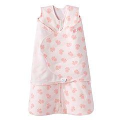 Baby Girl HALO SleepSack Floral Swaddle