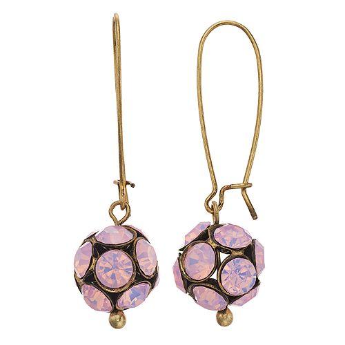 Simply Vera Vera Wang Stone Threader Drop Earrings