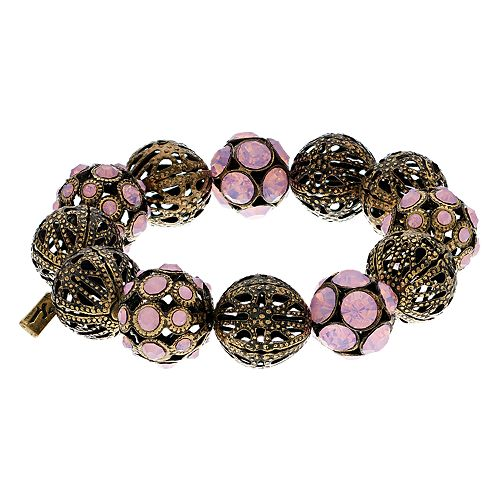 Simply Vera Vera Wang Filigree Bead Stretch Bracelet